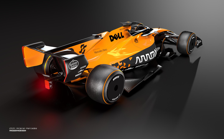 Mclaren Mercedes F1