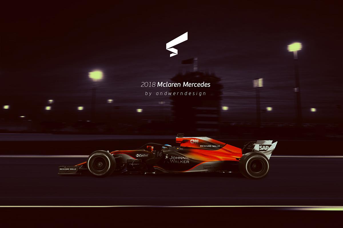 Andwerndesign 2018 Mclaren Mercedes F1