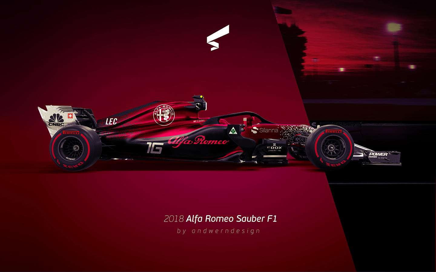 andwerndesign 2018 alfa romeo sauber f1. Black Bedroom Furniture Sets. Home Design Ideas